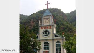 河南600多個十字架被強拆(視頻)