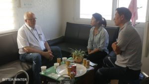 奧地利記者彼得·左依爾(Peter Zoehrer)接受KBS採訪