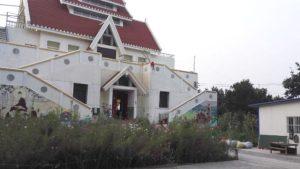 玉佛寺被拆前(知情人提供)