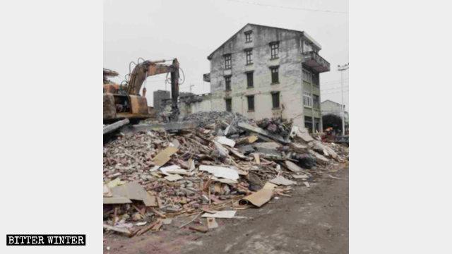 900户民房被强拆 村民上告无门反遭迫害