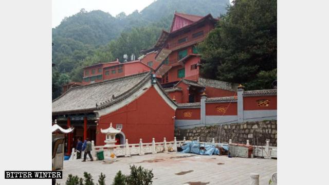佛教场所被以「违建」为由强拆(组图、视频)