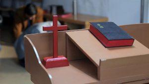 家庭教會信徒禱告