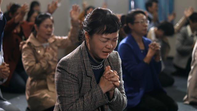 家庭教会信徒迫切祷告(网络图片)