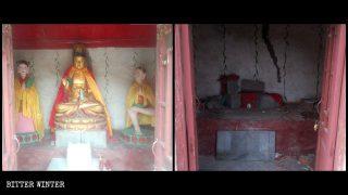 寺內、景區佛像頻遭強拆遮蓋 官員荒唐稱「寺廟內不能有佛像」