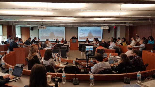 會議在華盛頓特區喬治·華盛頓大學艾略特國際事務學院舉行