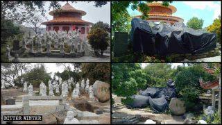 浙閩再傳1500餘羅漢像被迫拆除、遮蓋 著名古蹟也遭殃