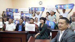 哈薩克斯坦人權活動人士賽爾克堅·比萊喜面臨法庭判決