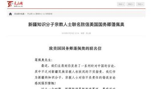 「維吾爾學者」為中共辯護——這是真的嗎?