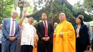中共培訓寺廟住持成外交官 接待外國訪客說錯話即挨批